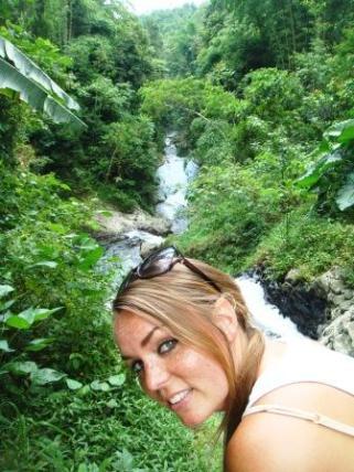 Bali twin waterfalls