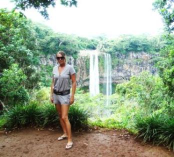 Mauritius falls