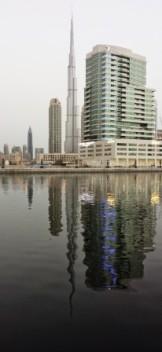 Dubai DAMAC Maison Canal Views hotel location