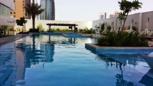 Dubai DAMAC Maison Canal views swimmingpool2