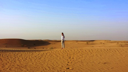 Dubai desert follow me