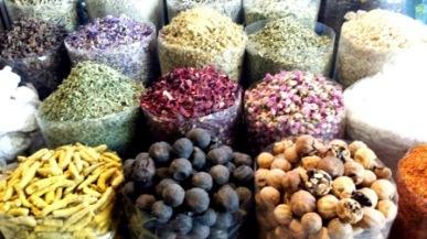 Dubai souk spices