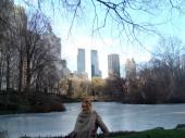 NewYork central park winter time