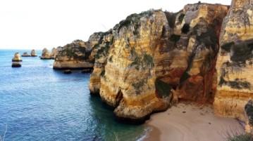 Portugal Praia Dona Ana Lagos