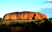 Sunset over Uluru Australia