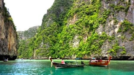 Thailand authentic Phi Phi leh