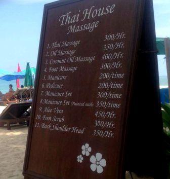 Thailand massages