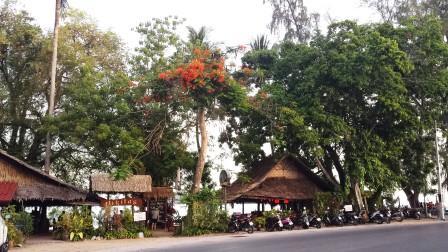 Thailand Nikita's beach restaurant Rawai