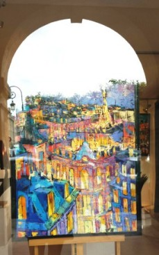 Paris galleries Place de Vosges
