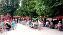Paris Jardin des Tuileries lunch