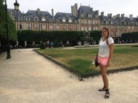 Paris me at Place de Vosges