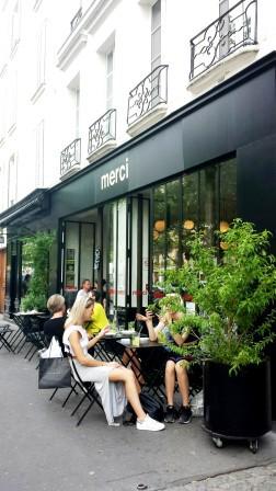 Paris Merci restaurant