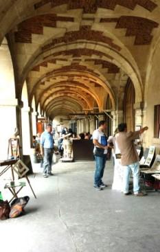 Paris Place de Vosges art galleries