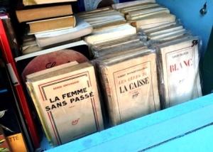 Paris stalls along the Seine