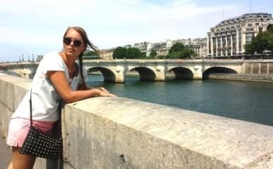 Parisian bridge views