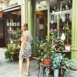 Parisian flower shops