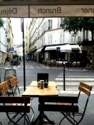 Parisian lunchrooms of Le Marais