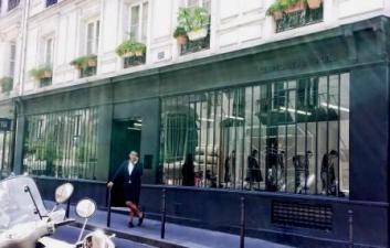 Parisian shops