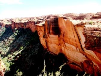 Australia Kings Canyon cliffs