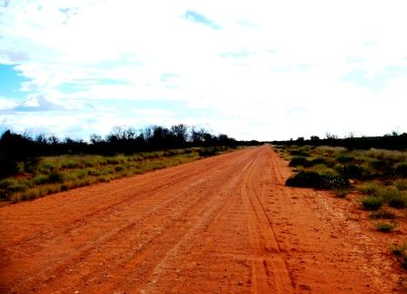 Australia outback dirt roads