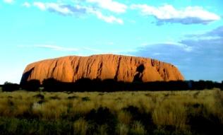 Australia Sunset over Uluru 1