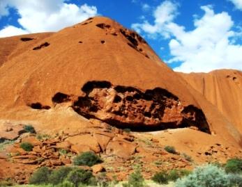 Australia Uluru up close