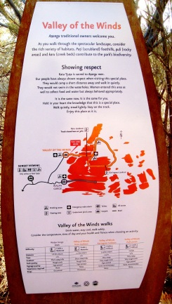 Australia Valley of the Winds walk