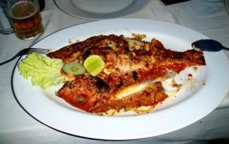 Bali fresh seafood Jimbaran