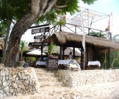 Bali Nusa Lembongan beach restaurants