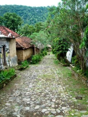 Bali traditional village Tengagang