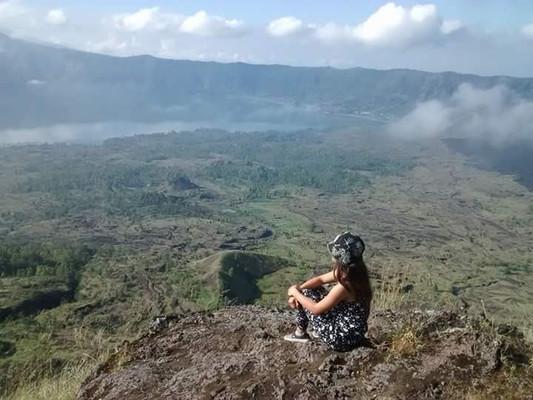 Bali view from Mt Batur