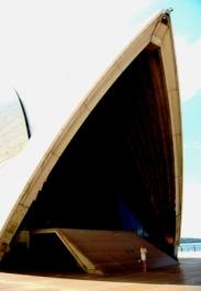 Australia feeling small at the Opera House
