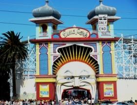 Australia St Kilda Luna Park