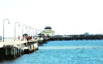 Australia St Kilda pier