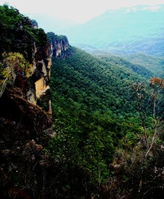 Blue Mountains Echo point views