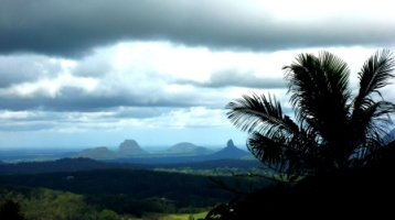 Sunshine coast views at Glass Mountains