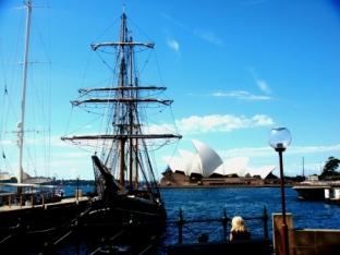 Sydney main harbour view