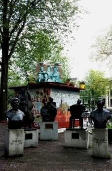 Amsterdam Johnny Jordaan square