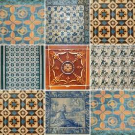 Portugal azulejos compilation