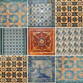 Portugal azulejos compilation