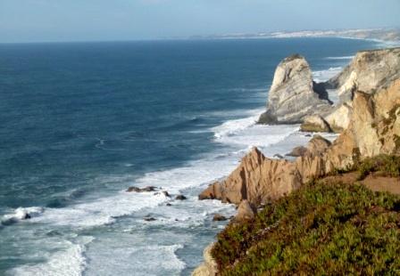 Cabo da Roca's coastline