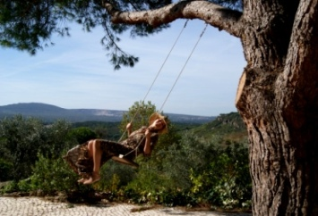 Holiday home swing
