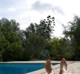 Holiday home pool