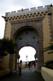 Pena National Palace gate