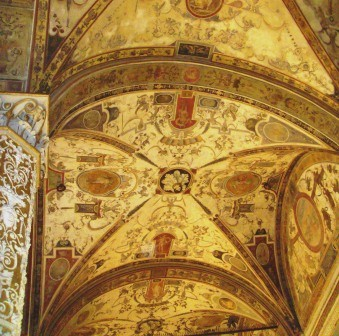 Florence ceilings of the Palazzo Vecchio