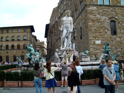 Florence Fountain of Neptune