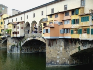 Florence colorful Ponte Vecchio