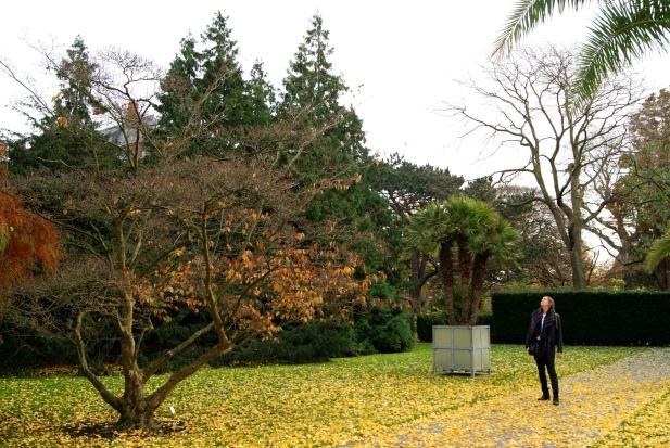 Me in the Botanical Gardens Leiden