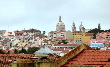Colorful Lisbon views