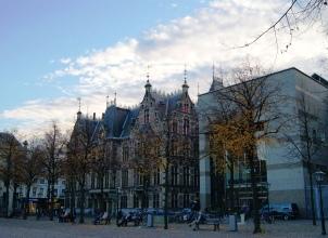 The Hague plein in autumn